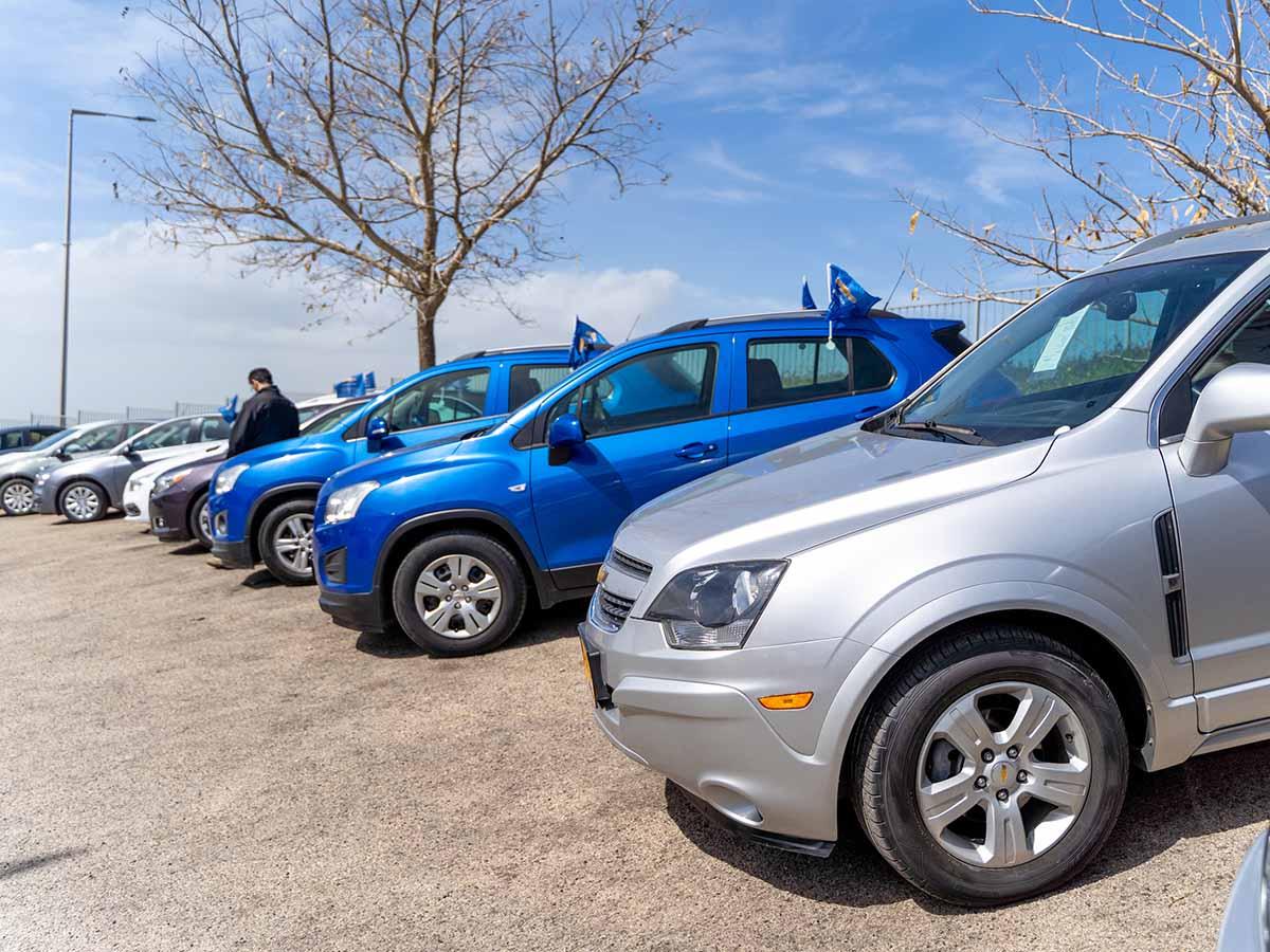 """הרכבים המוצעים למכירה במסגרת ה""""סרטיפייד"""" (רכבים יד שנייה באחריות מלאה)"""