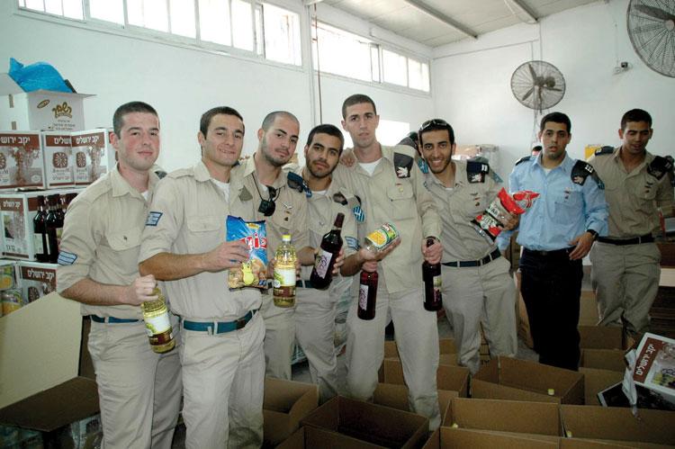 חיילים מתנדבים