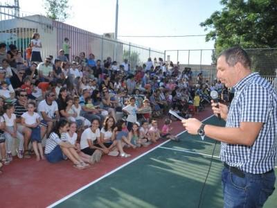 שדה יעקב: נחנך מגרש ספורט  חדש בעלות של כ-680 אלף שקלים