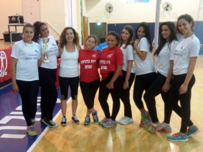 כדורשת נערות: קבוצת ניר  העמק אלופה לשנת 2015