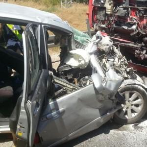 תמונת המחשה: תאונת דרכים