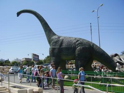 התגלה מצבור של דינוזאורים בטבעון