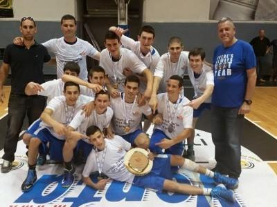 עמק יזרעאל: נערים  לאומית זכתה באליפות המדינה!
