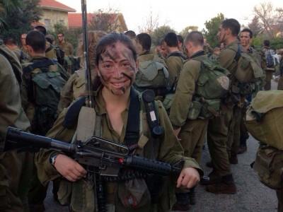 תותחית: ישר מהקולג' ללוחמת קרבית