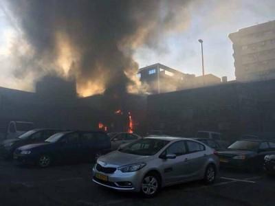הושגה שליטה על השריפה שאיימה להתפשט למלון לאונרדו בטבריה