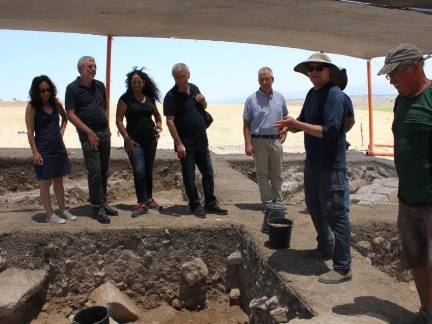 תל מגידו: נחשף ממצא ארכיאולוגי נדיר וייחודי