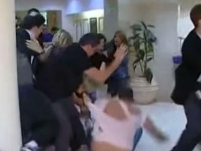 אדם נדקר בטבריה במהלך סכסוך שכנים