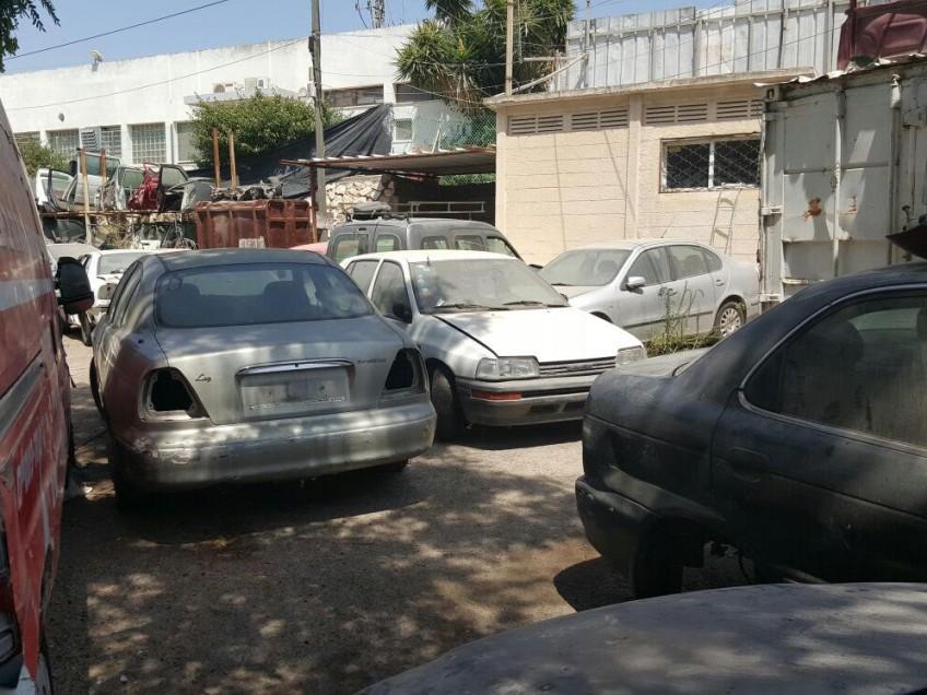 מגדל העמק: עלייה במספר המכוניות שננטשו בעיר