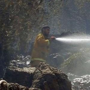 שרפה בהר הקפיצה בנצרת