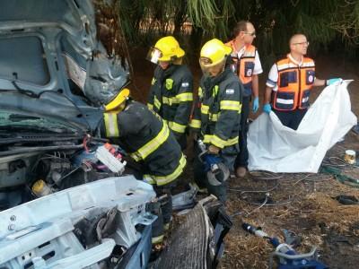 תאונה קטלנית ליד צומת גניגר