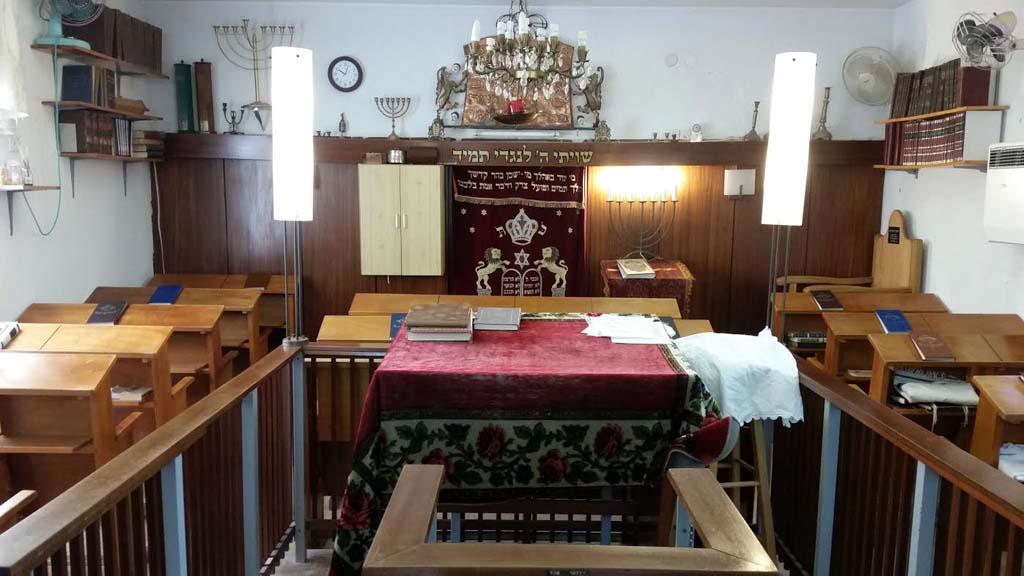 בית הכנסת בעין חרוד קיים כבר 90 שנה מרגע שעלה הקיבוץ על הקרקע בשנת 1926.