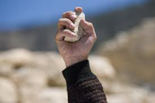 הסלמה לאזור העמקים? אבן נזרקה לעבר ניידת משטרה בכפר כנא