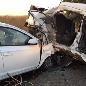 תמונות מזירת התאונה, הערב ליד מדרך עוז. צילום: דוברות כבאות והצלה מחוז צפון
