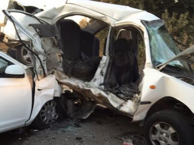 """תאונת דרכים קטלנית ליד מדרך עוז, מד""""א קבעו מותן של 2 נערות"""