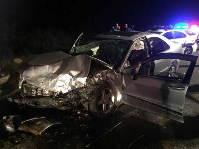 תאונה קשה בעמק יזרעאל – 3 פצועים קשה
