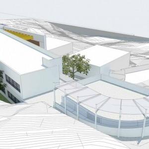 """מבנה חדש לבהי""""ס היסודי עמק חרוד"""