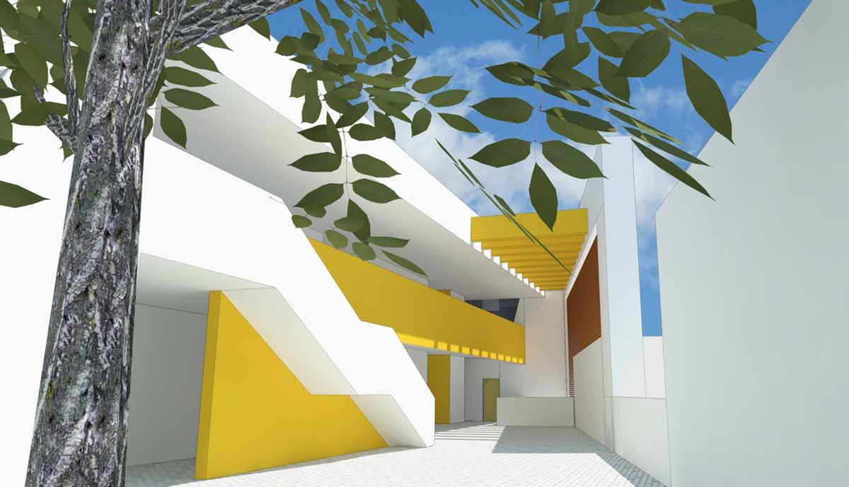 יסודי עמק חרוד מתחדש במבנה מודרני