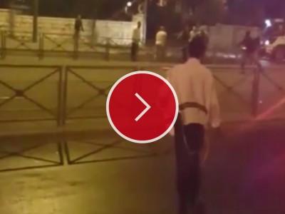 מפחיד: צפו ברגעי הזוועה במרדף אחר המחבל אמש בירושלים