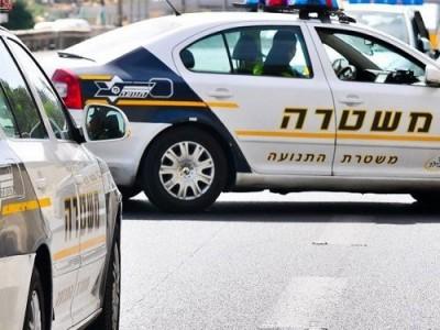 עפולה: נהג ברח משוטרים- עלה על מדרכות וסיכן חיי אדם