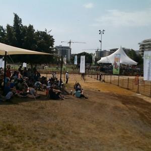נוכחות דלה בפסטיבל