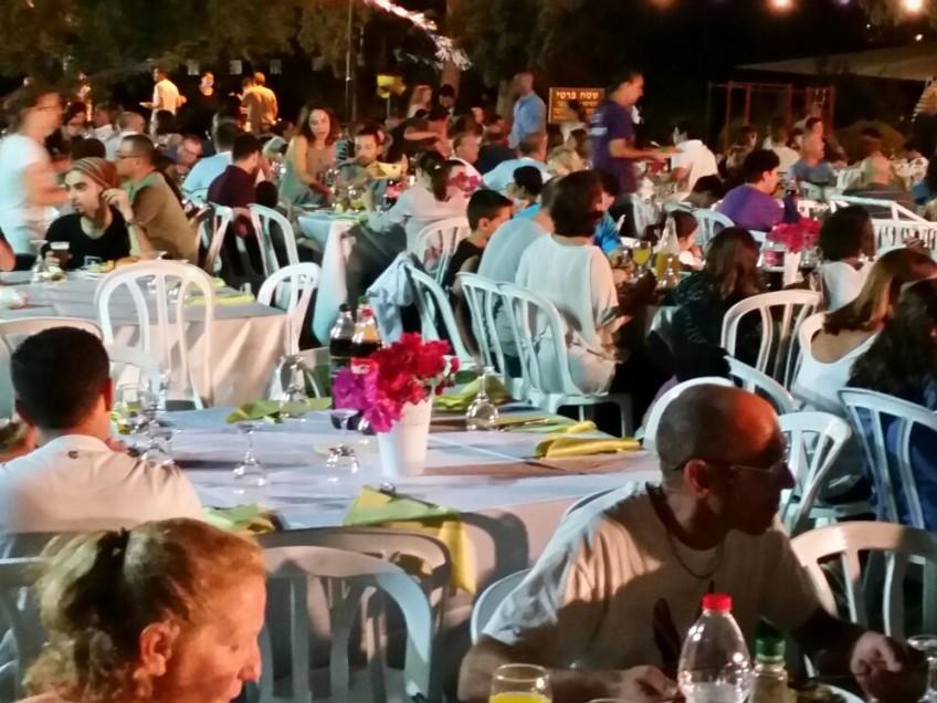 תושבי הקיבוץ ציינו 69  לעלייה לקרקע באירוע גדול וחגיגי