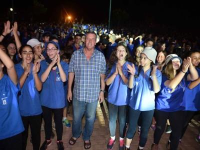 מפגן עוצמה יזרעאלי: חניכי תנועות הנוער פתחו את שנת הפעילות