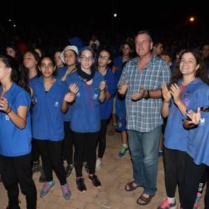 חניכי תנועת הנוער בזרעאל פתחו את שנת הלימודים בטקס מרשים