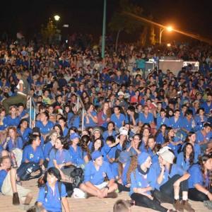 מאות בני בני התכנסו לטקס שחתם יום חוויתי מהנה