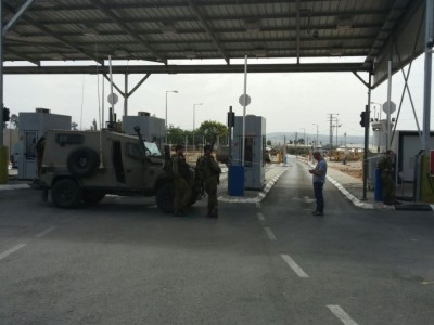 גלבוע: ניסיון פיגוע במחסום ג'למה