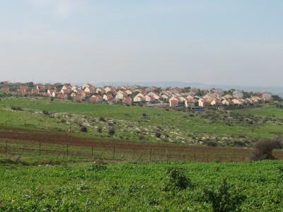 גן נר: זריקת אבן מכיוון כפר סנדלה