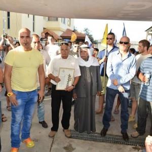 הפגנה משתופת לשל יזרעאל ובית זרזיר מען הדו קיום