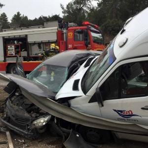 תאונה קשה בכביש 79 בין ציפורי למושב סוללים