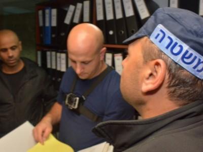 צפו: פשיטה על משרדי התנועה האיסלאמית בנצרת