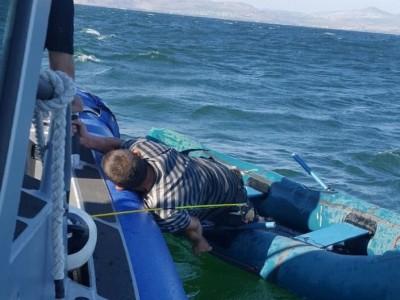 דרמה בכנרת: חולץ דייג שנסחף באגם