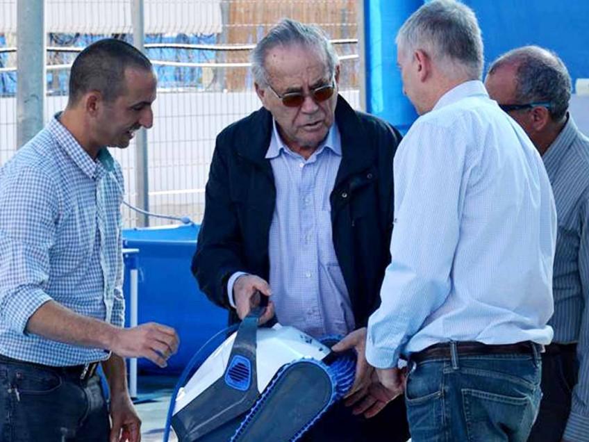 קיבוץ יזרעאל: סטף ורטהימר הגיע לביקור עבודה