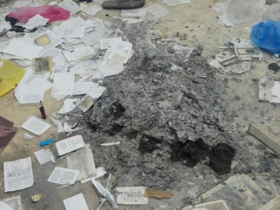 מזעזע: גנב ושרף מאות סידורי תפילה