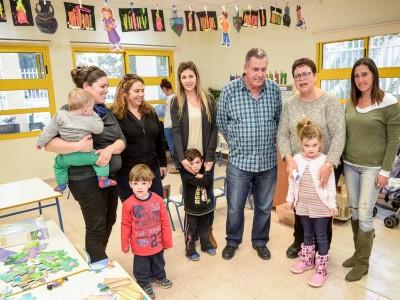 עמק יזרעאל: גן ילדים חדש נחנך בתל עדשים