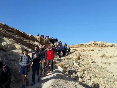 עמק יזרעאל: חניכי תנועת הנוער לא נרתעו מהקור