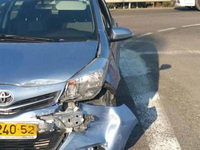 מגידו: שוב תאונה בכביש הדמים מס' 66