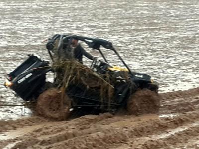 טרגדיה סמוך לבלפוריה: רוכב טרקטורון נסחף ונהרג