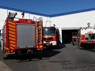 """""""חם חם"""" מתחמם: שריפה במפעל """"גוונים"""" בעפולה"""
