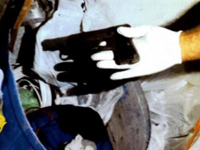 בתום מרדף: אקדח נתפס בידי רוכב קטנוע נמלט