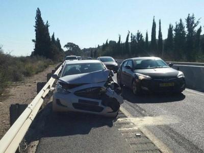 """""""כביש אדום"""": תאונה נוספת בציר 66"""