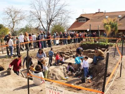 בעמק התנהג כרומאי: חגיגה ארכיאולוגית ברמת ישי
