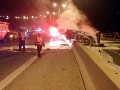 סמוך לנצרת עלית: פצוע קשה בתאונת דרכים