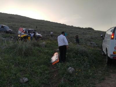 גליל תחתון: קטין נהרג בהתהפכות ריינג׳ר