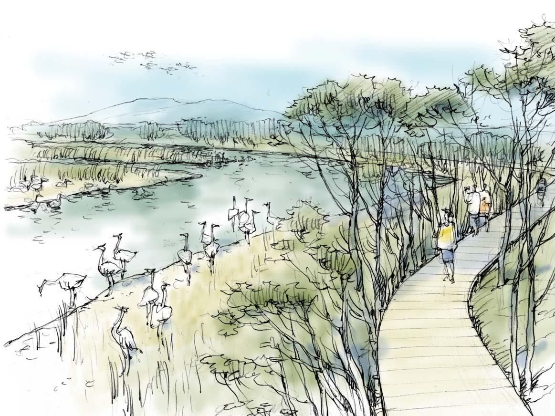 : הדמייה של הפארק החדש