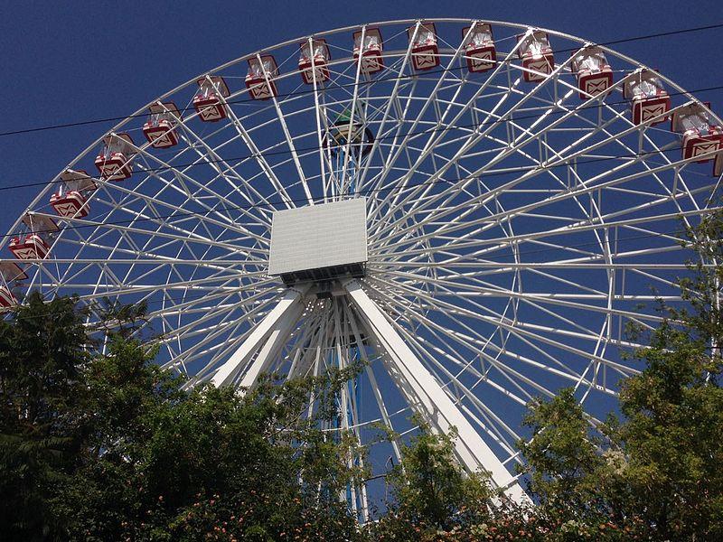 הגלגל החדש בלונה פארק תל אביב. צילום ויקיפדיה