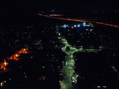 ויהי אור ברמת ישי: תאורת הרחוב מוחלפת בתאורת LED