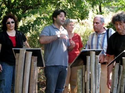 הרפתקת פסח בגן הבוטני במכללת אורנים